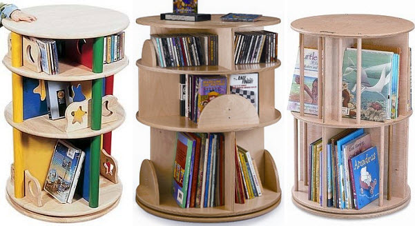 Kids revolving bookcase - 2