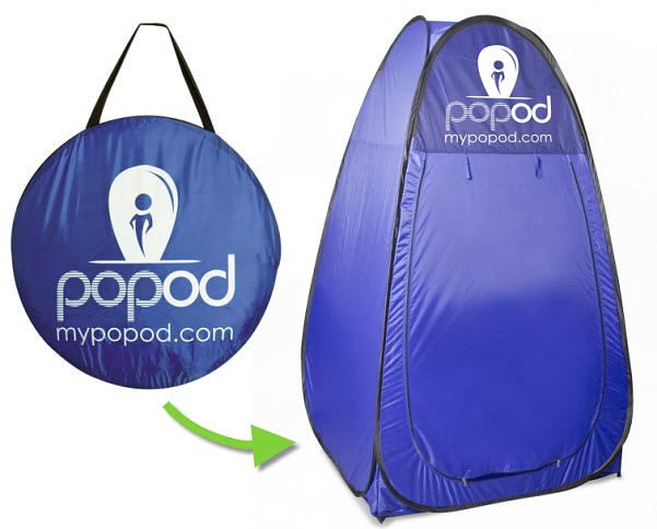 Popod popup portable changing tent