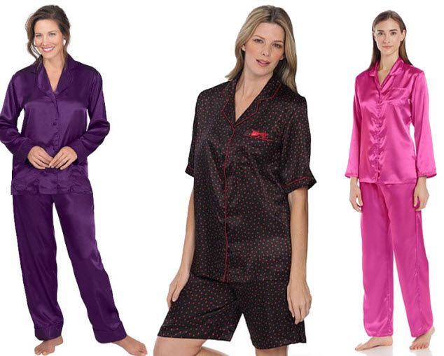 Satin pyjamas for women - 3