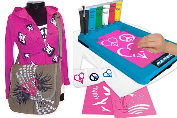 Silk screening kits for kids