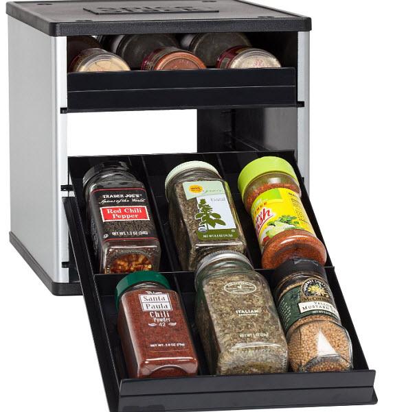 Spice cabinet organizer