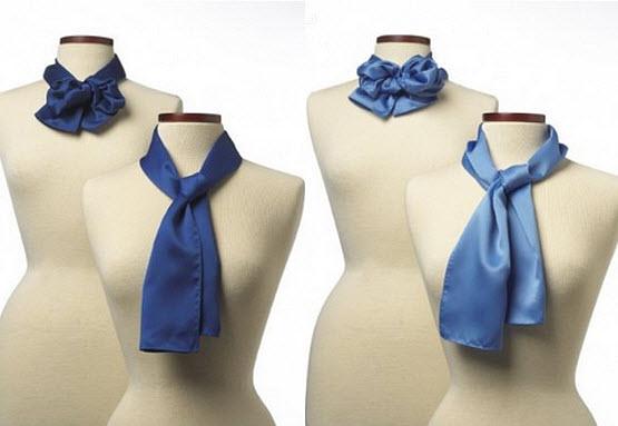 Stewardess scarf