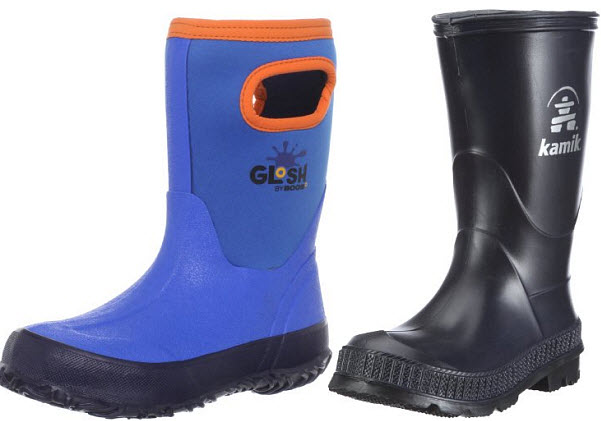 Toddler boys rain boots