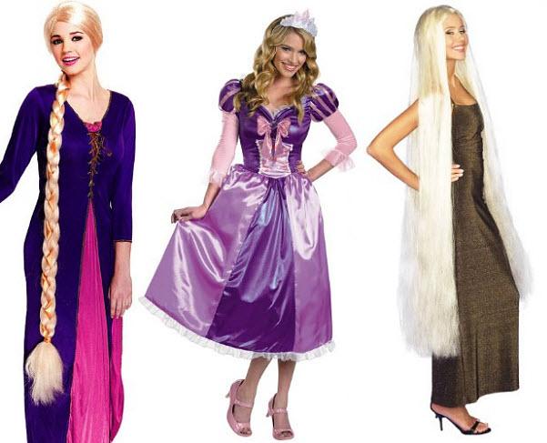 Adult Tangled Rapunzel costume