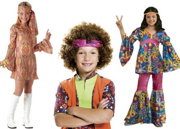 Kids 60s costumes
