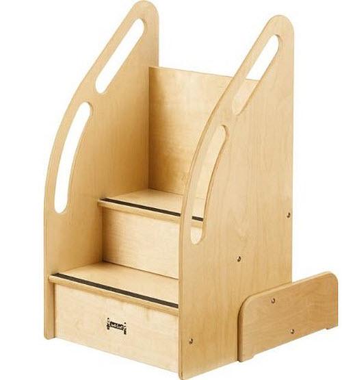 Kids wooden step stool