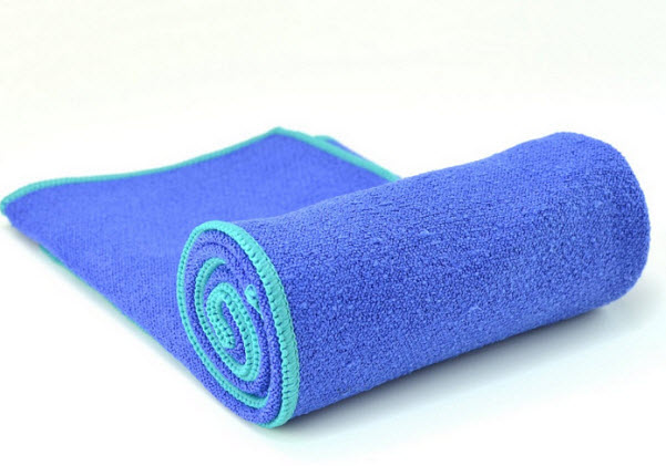 Non-slip yoga towels for mats