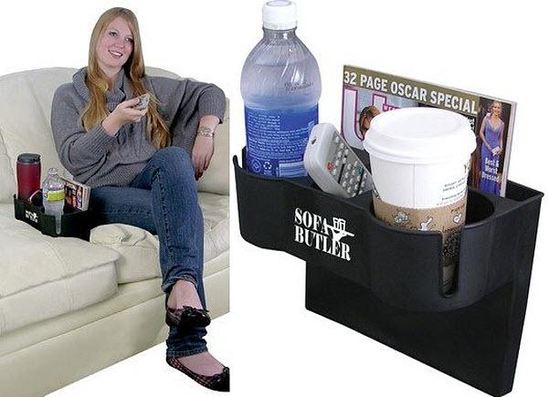 Sofa drink holder
