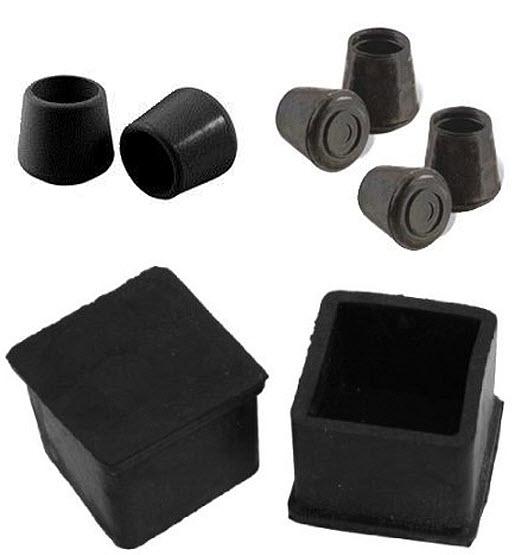 Table leg rubber caps