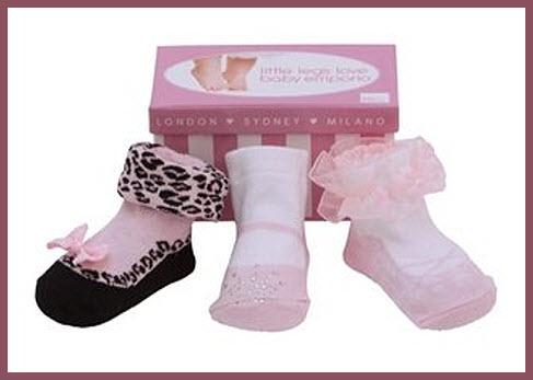 Baby Mary Jane socks