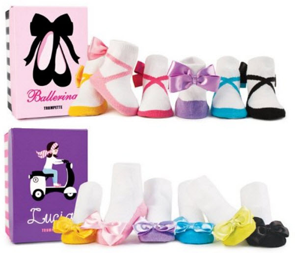 Baby ballerina socks
