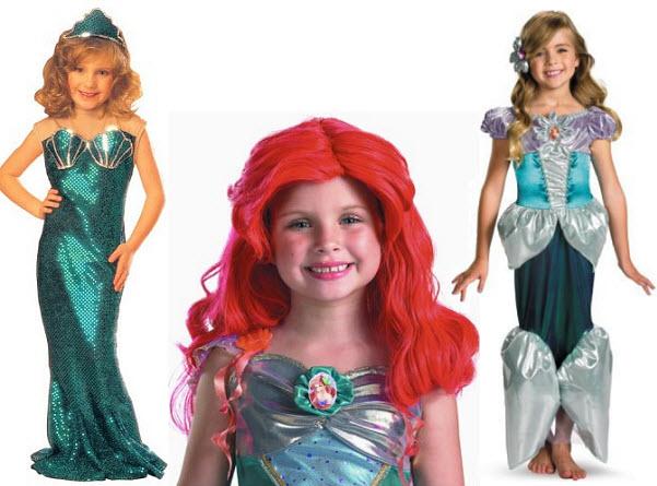Kids mermaid costume