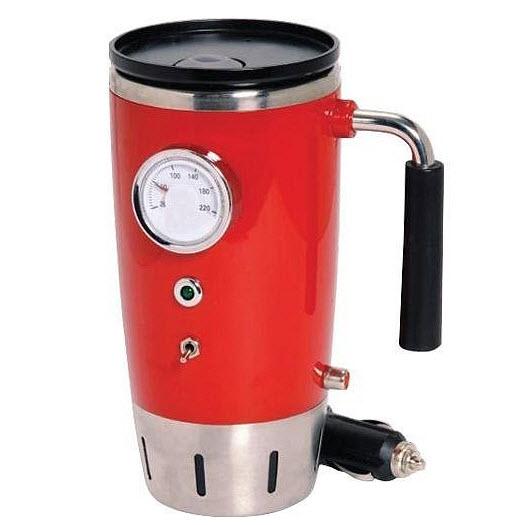 Electric travel coffee mug