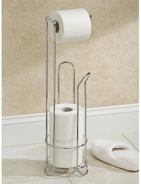 Free standing toilet paper holder - 2