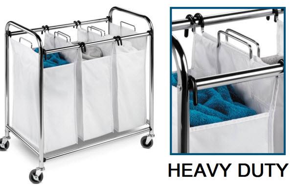 Heavy duty laundry sorter
