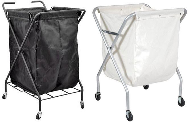Hotel laundry cart