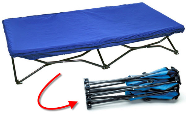 Kids camping cot