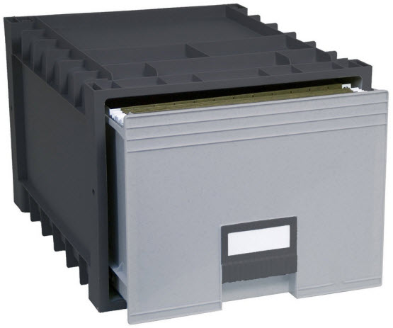 Hanging file storage box