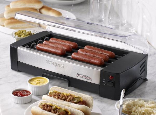 Home hot dog roller
