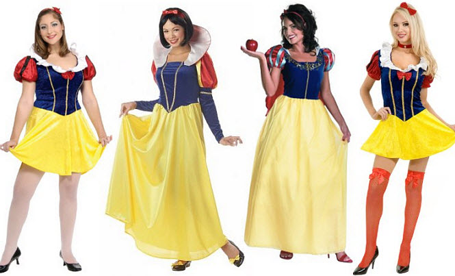 Snow White Halloween costume for adults