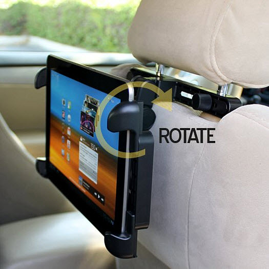 iPad holder for car headrest