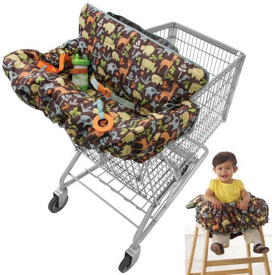 Baby shopping cart seat