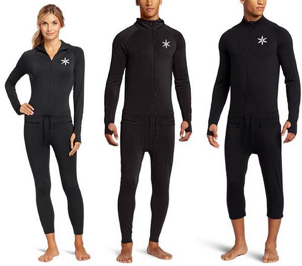 Black ninja suit
