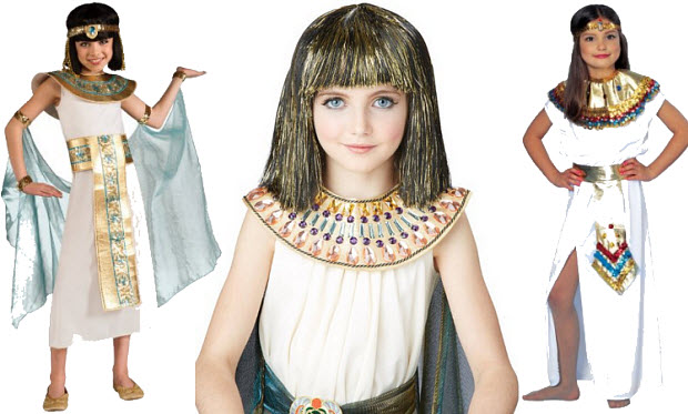 Cleopatra Halloween costumes for girls