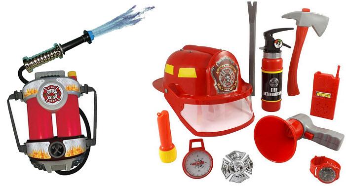 Fireman playset - b