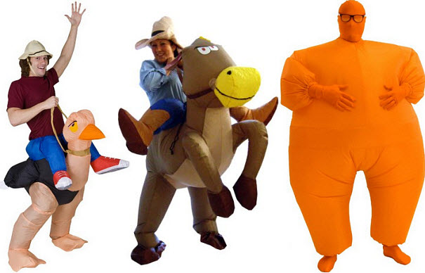 Inflatable Halloween costumes for adults