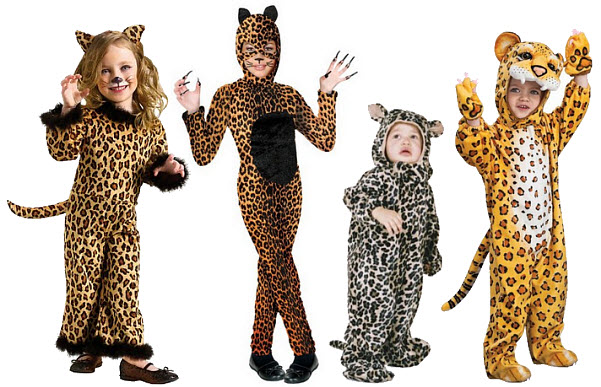 Kids leopard Halloween costume