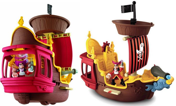 Kids pirate ship toy