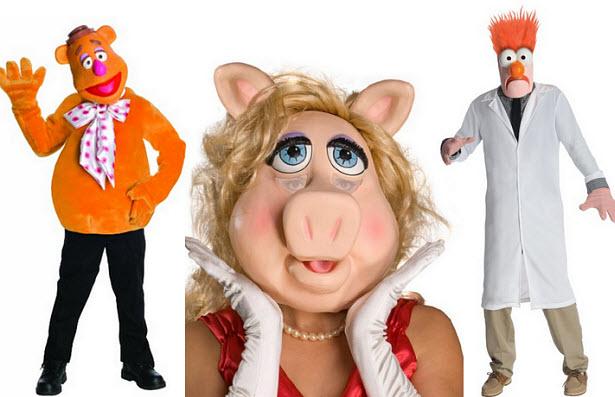 Muppets halloween costumes