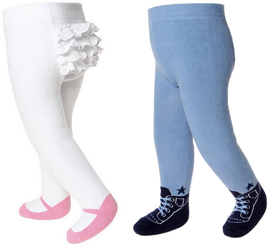 Non slip tights for toddlers - 2
