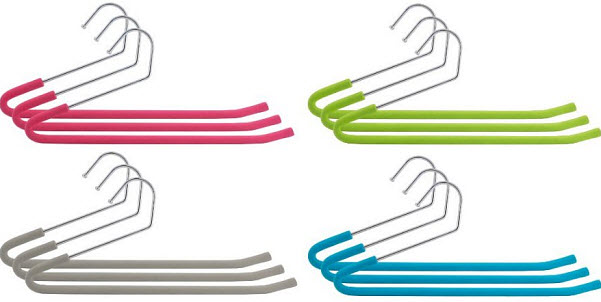Open ended pants hangers