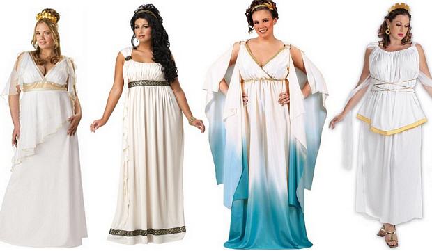 Plus-Size Goddess Halloween costume