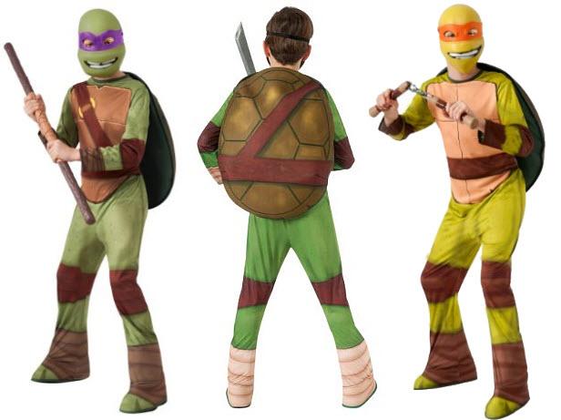 Teenage Mutant Ninja Turtles Halloween costume for kids