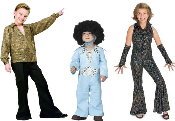 70s Halloween costumes for kids