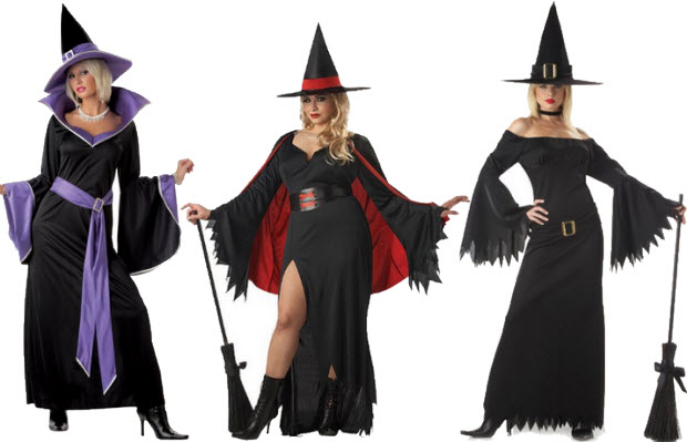 Adult witch Halloween costume