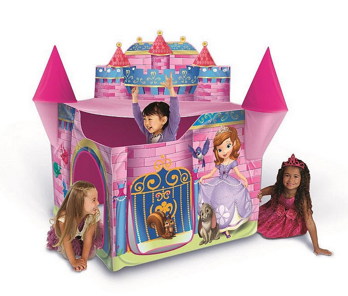 Castle play tent for girls - 2