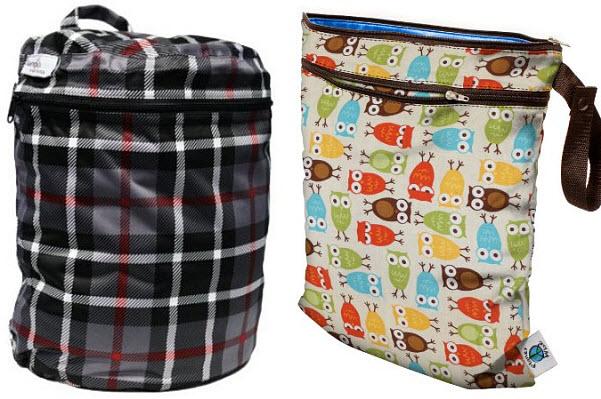 Cloth diaper wet bag