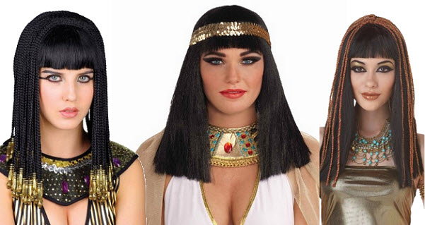 Egyptian costume Cleopatra wig