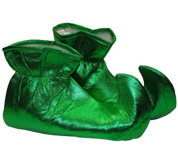 Elf costume shoes
