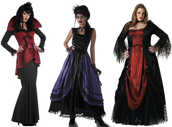 Gothic Halloween costumes for women
