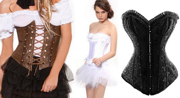 Halloween costume corset