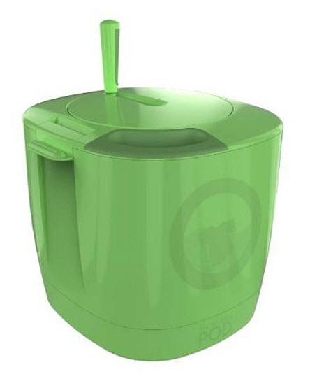 Hand powered portable washing machine