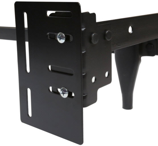 Headboard attachment mounting bracket