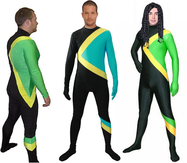 Jamaican Bobsled Team Halloween costume