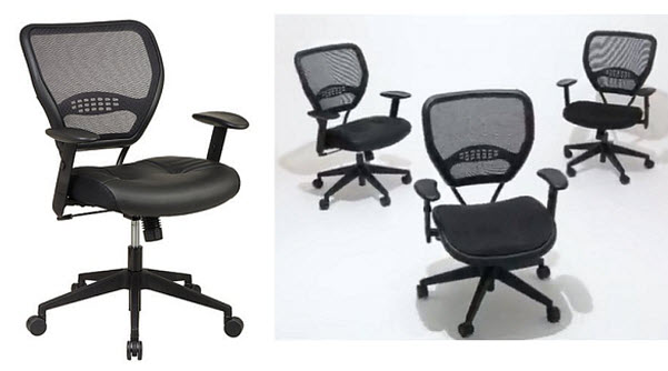 Mesh back home office chair