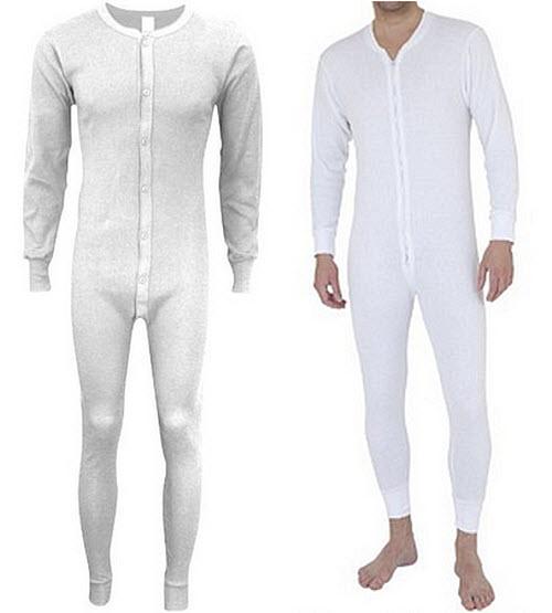 White union suit